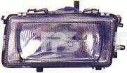 Левая фара Ауди 80 86-91 h4 механическая/электрическая регулировка кроме 90/Купе / AUDI 80 B3 (1986-1991)
