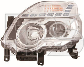 Левая фара Ниссан ИКС-Траил T31 10-16 электро регулировка без корректора / NISSAN X-TRAIL T31 (2007-)