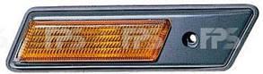 Левый указатель поворота БМВ 7 E32 на крыле желтый без лампы / BMW 7 E32 (1987-1994)