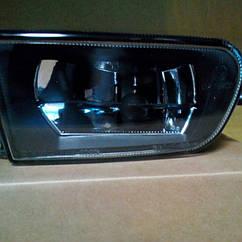 Левая фара противотуманная БМВ 5 E39 до 2000 года гладкая без лампы / BMW 5 E39 (1995-2004)