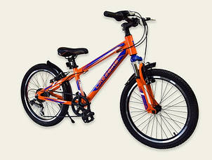 Велосипед горный Like2bike 20 'A192004 оранжево синий