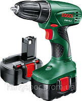 Аккумуляторная дрель-шуруповёрт Bosch PSR 14,4 (2 аккумулятора) 0603955421