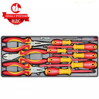 Набор инструментов диэлектрических Whirlpower AN-SD09 (11 предметов)
