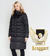 Воздуховик Braggart Angel's Fluff 29775 | Куртка женская зимняя черная, фото 1