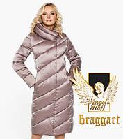 Воздуховик Braggart Angel's Fluff 30952 | Женская зимняя куртка пудра, фото 1