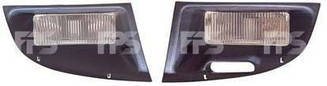 Правая фара противотуманная Пежо Партнер 97-02 под лампу h3 без лампы / PEUGEOT PARTNER (1997-2002)