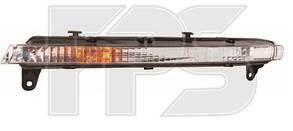 Правая фара Ауди Q7 дневного света год 2005-09 (короткая) h21w/w5w без ламп / AUDI Q7 (2005-2015)