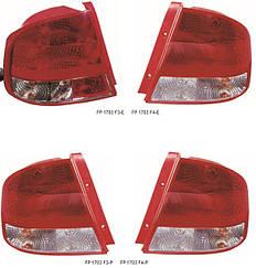 Левый задний фонарь Шевролет Авео T200, кузов седан / CHEVROLET AVEO T200 (2004-2006)
