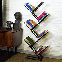 Стеллаж для книг в стиле LOFT (NS-970000159), вис-1700мм, шир-130мм, довж-400мм,