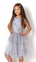 Новинка Нарядное  платье для девочек Mevis 2594 Размеры 122- 146