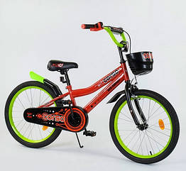"""Велосипед двухколесный CORSO 20"""" R-20273 красный"""