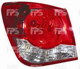 Левый задний фонарь Шевролет Круз, кузов седан, внешний, без лампы / CHEVROLET CRUZE (2009-2015)