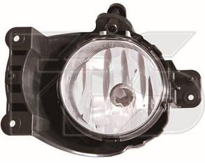 Правая фара противотуманная Шевролет Авео T300 под лампу h27w/2 без патрона / CHEVROLET AVEO T300 (2011-)