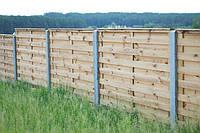 Строим деревянные заборы и ворота