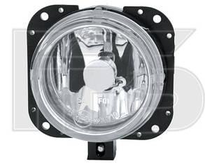 Левая (правая) фара противотуманная Пежо Партнер 02-07 под лампу h1 без лампы / PEUGEOT PARTNER (2002-2007)