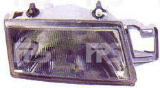Левая фара Фиат Темпра -97 механическая регулировка / FIAT TEMPRA (1990-1998)