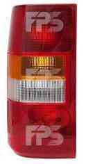 Левый задний фонарь кузов BUS без платы Ситроен Жампи 96-07 / CITROEN JUMPY (1996-2003)