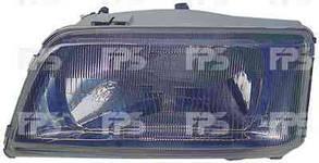 Левая фара Пежо Боксер 94-02 h4 механическая/гидравлическая регулировка / PEUGEOT BOXER (1994-2002)