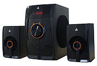Колонки Golden Field LA160F Black 15W+2*10W MP3 player + FM + Bluetooth