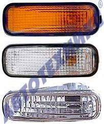Левый указатель поворота Хонда Цивик ЯПОНИЯ -99 на крыле белый / HONDA CIVIC (1995-2000)
