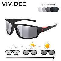 Очки солнцезащитные фотохромные VIVIBEE V4029 спортивные от солнца