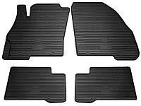 Fiat Linea 2007- Комплект из 4-х ковриков Черный в салон