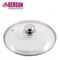 Крышка из закаленного стекла Benson BN-1005 24 см | Стеклянная крышка на кастрюлю