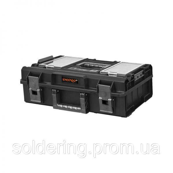 Ящик для инструмента Dnipro-M S-Box P200 органайзер из поликарбоната, 15.5 л