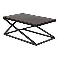 Кофейный Журнальный столик в стиле LOFT (NS-970000574), вис-400мм, шир-600мм, довж-1000мм,, фото 1