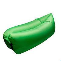 Надувной диван Ламзак Lamzac AIR CUSHION | Надувной лежак | Зеленый