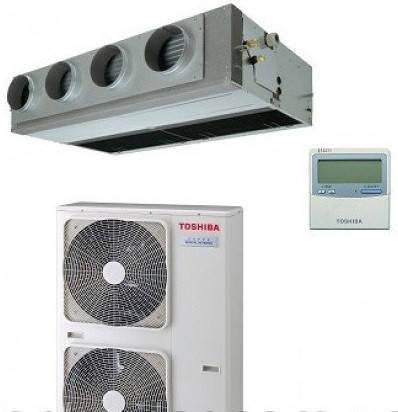 Сплит-система канального типа Toshiba 12.5 кВт(-20) RM14*BT(P)-E/RAV-SP14*AT8(P)-E/ RBC-AMS41E, фото 2