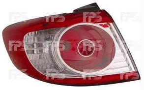 Левый задний внешний фонарь без ламп Хюндаи Санта Фе II 09-12 / HYUNDAI SANTA FE II (2006-2012)