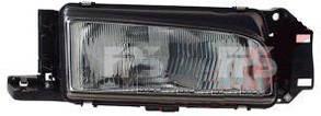 Правая фара Мазда 323 C год 1989-94 кузов hb, с 3.1991 года кузов седан (механическая регулировка) / MAZDA 323 (1985-1994)