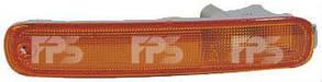 Левый указатель поворота Мазда 323 95-98 в бампере без патрона / MAZDA 323 (1995-1998)