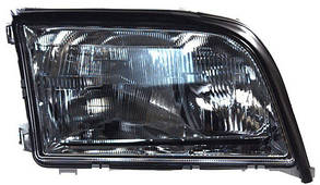 Левая фара Мерседес W140 с 1993 года рифленый рассеиватель механическая/электрическая регулировка рег. / MERCEDES S-Class W140 (1991-1998)