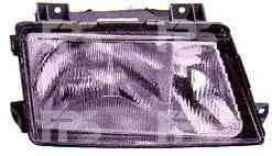 Левая фара Мерседес Спринтер 95-00 h1+h1 пневматич. рег. / MERCEDES SPRINTER (1995-2006)