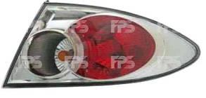 Правый задний внешний фонарь, кузов HB седан 02-05, хромированный, (подходит для 2006-2008 год), без патронов, Мазда 6 / MAZDA 6 (2002-2008)