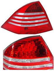 Правый задний фонарь тип LED, без платы Мерседес 220 02-05 / MERCEDES S-Class W220 (1998-2005)