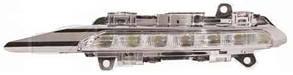 Левая фара противотуманная Мерседес 221 06-09 (фара дневного света) led / MERCEDES S-Class W221 (2006-2012)