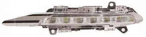 Правая фара противотуманная Мерседес 221 06-09 (фара дневного света) led / MERCEDES S-Class W221 (2006-2012)