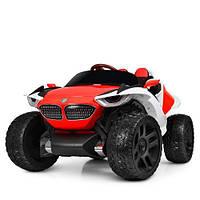 Електромобіль дитячий джип Bambi M 4064EBLR 4 мотори червоний CH1143