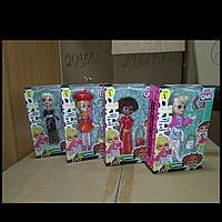 Лялька 19982 LOL, 15см, акс, 4види, в кор-ке