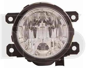 Левая (правая) фара противотуманная c дневным светом Рено Меган 03-08 / RENAULT MEGANE (2002-2009)