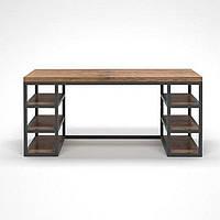Письменный/Офисный стол в стиле LOFT (NS-963247342), вис-750мм, шир-650мм, довж-1200мм,