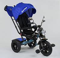Велосипед трехколесный Best Trike 4490-2761 черно синий