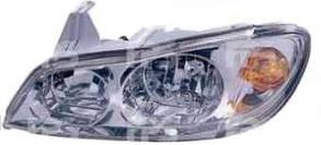 Левая фара Ниссан Максима A33 00-06 механическая регулировка hb3+hb4 (светлый отражатель) / NISSAN MAXIMA A33 (2000-2006)