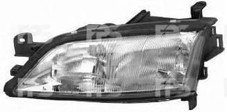 Левая фара Опель Вектра B -99 h7+h1 электро регулировка (под корректор carello) без корректора / OPEL VECTRA B (1995-2002)