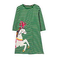 Платье детское для девочки Лошадка