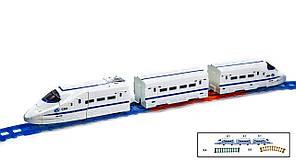 Робот поезд-трансформер с флуоресцентным (светящимся) треком 168G-40AA, фото 2