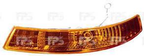 Левый указатель поворота Опель Виваро 01-07 желтый (под фарой) без патрона / OPEL VIVARO I (2001-2014)